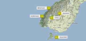 Milford Sound map
