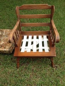 Faith Chair Before