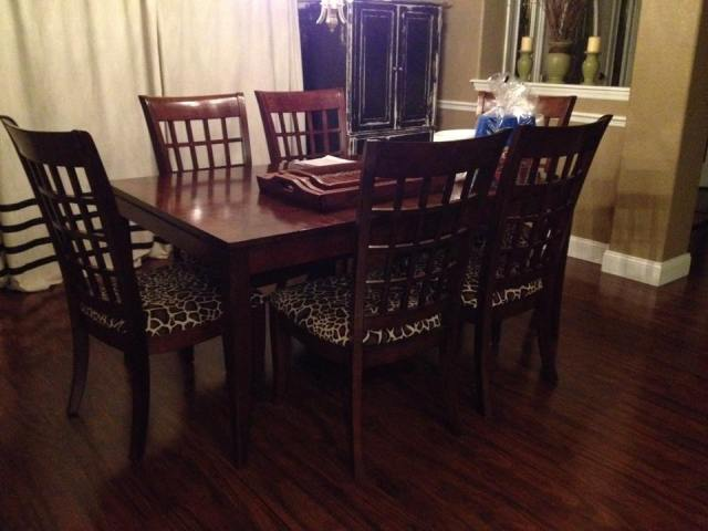 dining table before